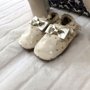 ROBEEZ Frilly moccasins (18-24M) baby girl shoes